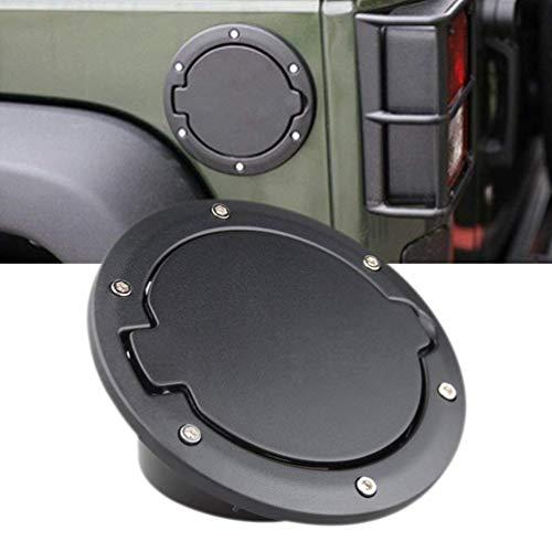 DQDZ - Tapa de depósito de gas para llenado de combustible, color negro