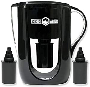 Reshape Water Alkaline Water Pitcher With 2 Long-Lasting Filters