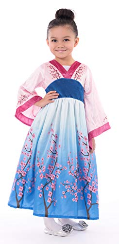 Little Adventures Cherry Blossom Princess Dress Up Costume (Small Age 1-3)