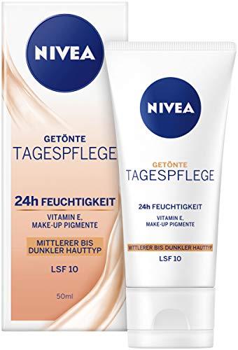 Nivea Getönte Feuchtigkeitspflege für mittlere bis dunkle Hauttypen 1er Pack (1 x 50 ml)
