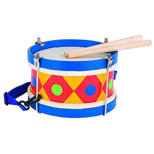 Goki- Tambor para Niños, Multicolor (61982)