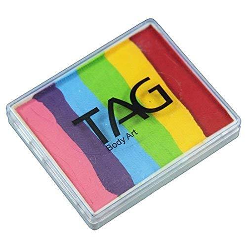TAG Face & Body Paint - Split Cakes 50g - Regular Rainbow