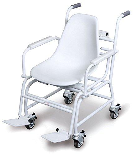 Kern MCB 300K100M - Báscula portátil para sillas con 4 ruedas (300 kg, 100 g)