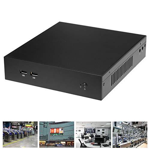 Ufolet Mini PC, Caja Exquisita del Ordenador HTPC del Aspecto para la educación para el Control Industrial(European Plug (100-240v), Transl)