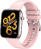 Smart Watch Health & <span class='highlight'>Fitness</span> <span class='highlight'>Tracker</span>, IP67 Waterproof Smartwatch with <span class='highlight'>Heart</span> <span class='highlight'>Rate</span> Monitor, Pedometer Watch <span class='highlight'>Step</span> Counter, Cardio Smart Watch <span class='highlight'>for</span> <span class='highlight'>Women</span> Men… (pink)