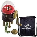 addi Egg Ei - Juego de máquina de tejer con 1 bolsa para proyectos Artsiga Crafts