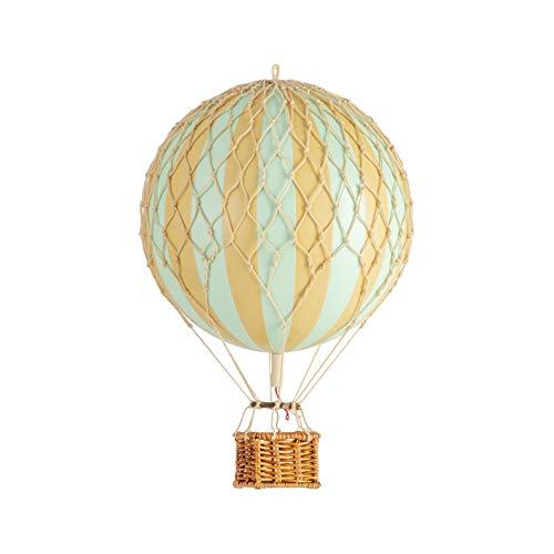 Mini Mongolfiera Decorativa Tiffany Menta da Appendere