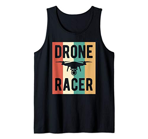 Drone Racer Unmanned Aerial Vehicle Racing Tank Top