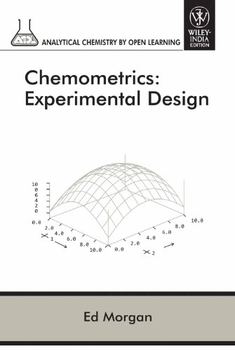 Chemometrics: Experimental Design (Part Of Acol Series) (Original Price $ 99.95)