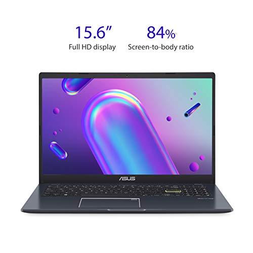 "41sv+AO+gdL. SL500 ASUS Laptop L510 Ultra Thin Laptop, 15.6"" FHD Display, Intel Celeron N4020 Processor, 4GB RAM, 128GB Storage, Windows 10…"