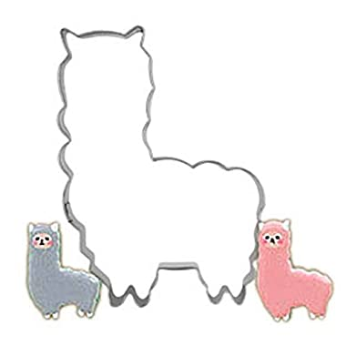 Myhouse Cute Alpaca DIY Cake Decorating Mold Cookie Cutters Biscuit Baking Tools