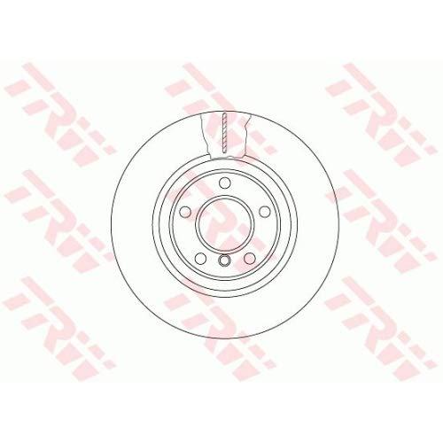 Preisvergleich Produktbild TRW df6616s Bremsscheibe