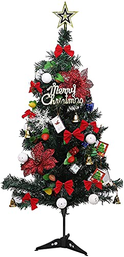FXBNHDFMF - Albero di Natale artificiale in PVC ad alta densità, 80 punte per rami, per esterni, interni, ufficio, ecc.