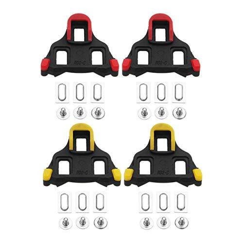 Jtoony CramponsDegrees - Pedales de bloqueo automático para bicicleta de carretera, zapatos...