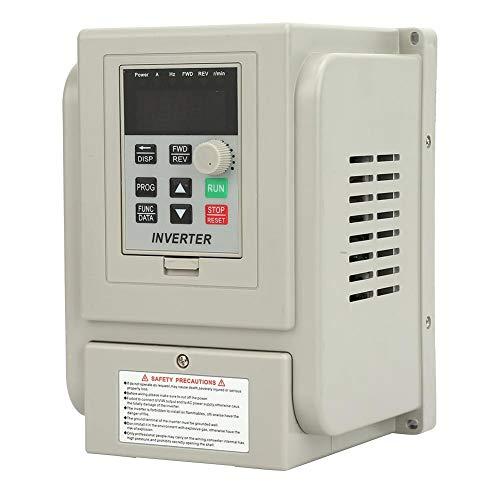 Tosuny Frequenzumrichter 220 V Wechselstrom VFD Drive Inverter Converter PWM VFD Controller 0.75kW Einzelphrase für die Drehzahlregelung des Wechselstrommotors