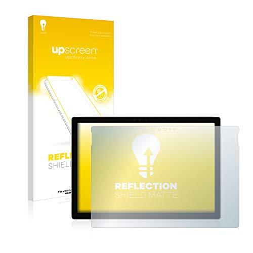upscreen Entspiegelungs-Schutzfolie kompatibel mit Microsoft Surface Pro 6 – Anti-Reflex Bildschirmschutz-Folie Matt