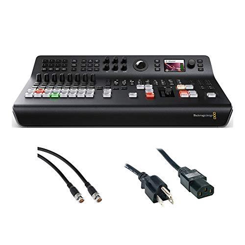 Blackmagic Design ATEM Television Studio Pro HD Live Production Switcher with SDI Video Cable & PC Power Cord 6