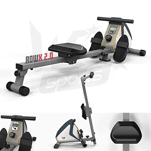 We R Sports¨ Deluxe Magnetic Rowing Machine Body Tonner Fitness Cardio Gym Workout Weight Loss