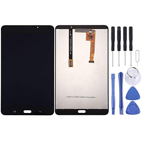 RUNNA Pantalla LCD y Montaje Completo de digitalizador para Galaxy Tab A 7.0 (2016) (versión WiFi) / T280 Easy to Use (Color : Black)