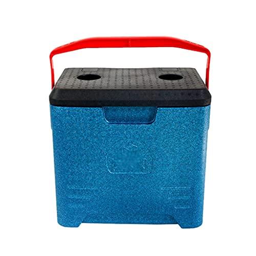 FHISD Scatola frigo Portatile, Scatola di polistirolo per refrigerazione da Viaggio per Picnic da Pesca Scatola Multifunzione per Uso Domestico Facile da trasportare