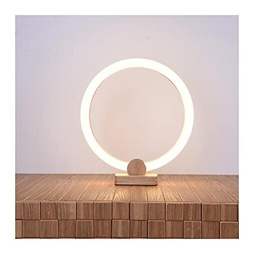 BHGY Lámpara de escritorio de estudio creativo, adecuada para lámpara de noche en dormitorio universitario, dormitorio moderno, minimalista, para sala de estar de los niños