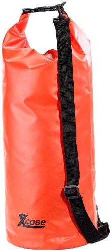 Xcase Wasser Sport-Säcke: Wasserdichter Packsack 25 Liter, rot (Gepäckrolle)