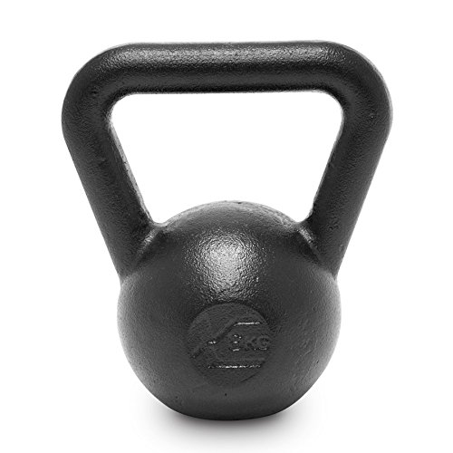 Xenios USA PSCIKBLH6 Pesa Rusas - Kettlebell Evolution 6 Kg Ideal para la práctica del Entrenamiento Funcional, WOD, potenciamiento Muscular