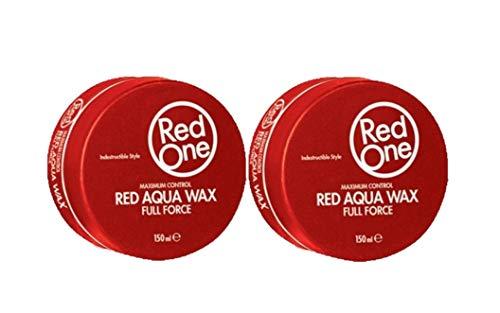 RedOne Aqua Hair Wax Red 150ml 2 Stück