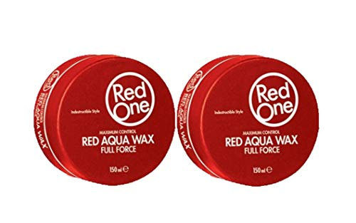 RedOne Aqua Hair Wax Red 150ml 2 Stück