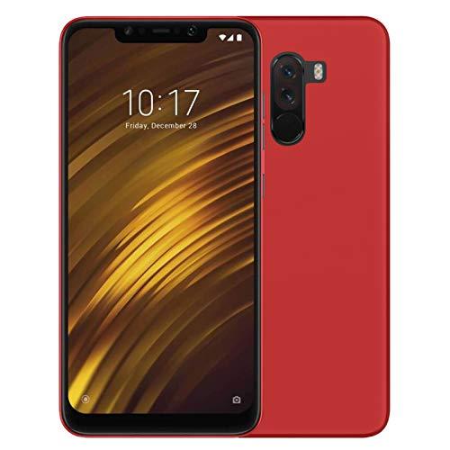 TBOC® Rot Gel TPU Hülle für Xiaomi Pocophone F1 - Xiaomi Poco F1 (6.18 Zoll) Superdünn Flexibel Silikonhülle