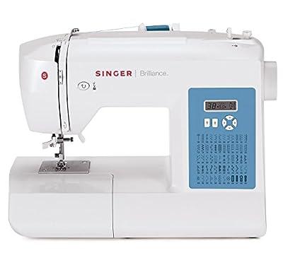Máquina de coser electrónica Singer Brilliance 6160 (60 funciones de costura) de SINGER