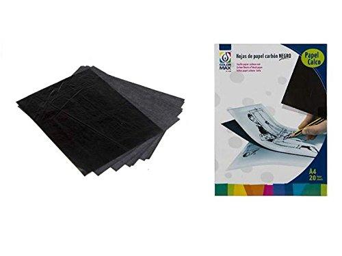 Carbon papier DIN A4 20 vellen Color Max