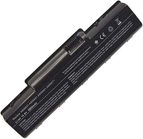 onlyguo 10.8V 5200MAH AS09A31 AS09A41 Laptop Battery Replacement for Acer Aspire 5732z 4732z 5532 5332 5517 5516