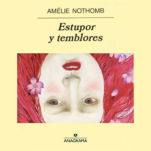 Diseño de la portada del título Estupor y temblores