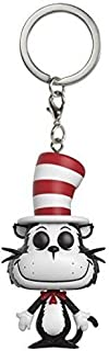 Funko Pop Keychain: Dr. Seuss Cat in the Hat Toy Figure
