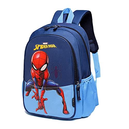 CO Mochila para niños Spiderman, Bolsa Impermeable 3D, Mochila superhéroe 3D Mochila Mochilas para niños Camping Senderismo.