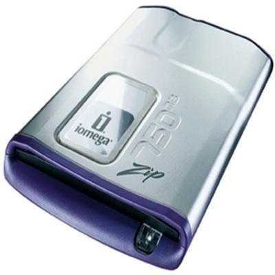 Iomega 32324 Zip 750MB External USB Drive