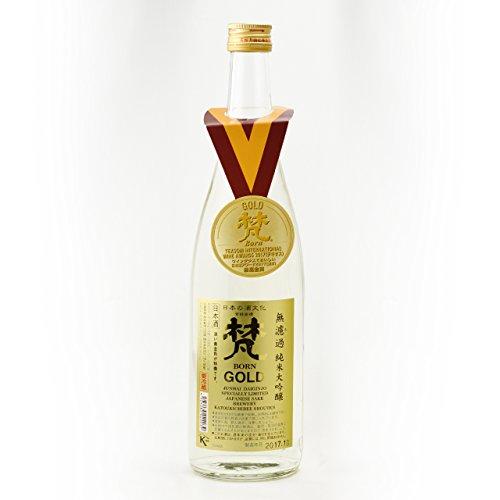 BON GOLD - Junmai DaiGinjo - Premium-Sake (japanisch Reiswein) 1 x 0.72 l
