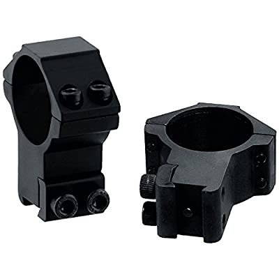 UTG 30mm/2PCs High Profile Airgun Rings w/Stop Pin
