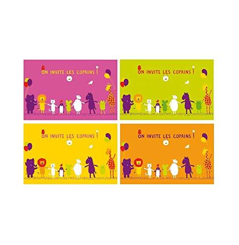 INCIDENCE - 29947 - Set de table enfant - Moutons & Cie - Set de 4 pièces