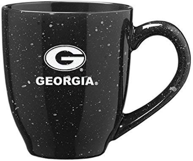LXG, INC. université de la Géorgie 453,6Gram à café en céramique Mug Noir