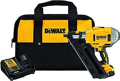 DEWALT 20V MAX Framing Nailer Kit, 30-Degree, Paper Collated from Dewalt