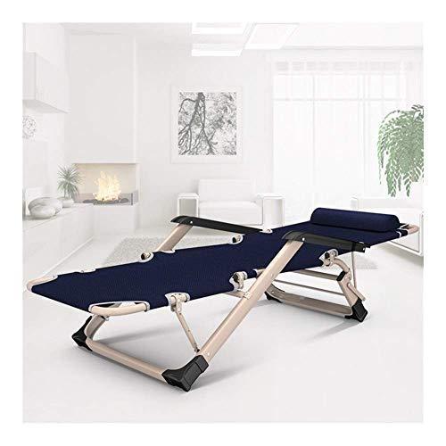 N/Z Home Equipment Lounge Stuhl Liegestuhl Gartenstuhl Sun Lounger Klappstuhl Für Strand Patio Garten Camping Outdoor Square Stahlbeine