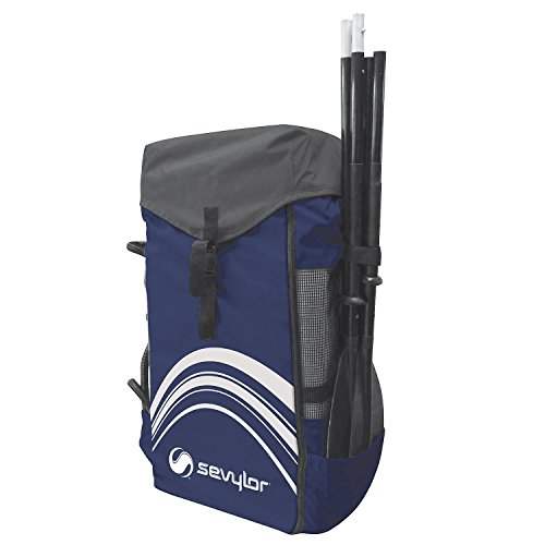 Sevylor QuikPak Mochila de Acampada, Unisex, Azul/Gris, 130 L