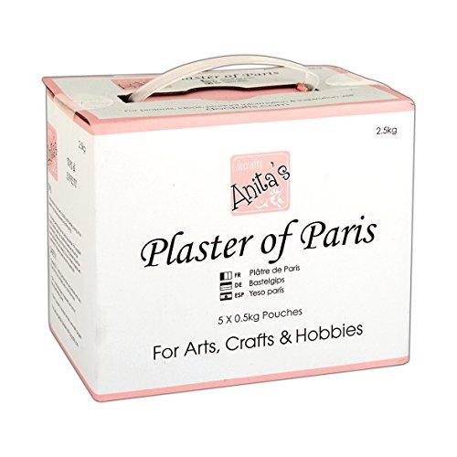 Docrafts - Gesso di Parigi in polvere (2,5 kg)