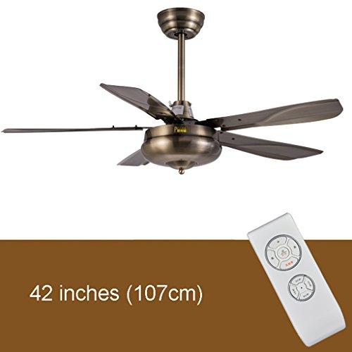 Plafondventilatoren met verlichting 42/48 inch hout bladeren zonder lamp plafondventilator modern eenvoudig zonder licht ventilator