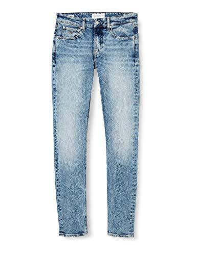 Calvin Klein Ckj 058 Slim Taper Pantalones, Denim, 29W / 30L para...