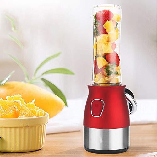 WPJ Exprimidor Picadora de Carne Taza Exprimidora de Jugo Multifuncional Eléctrica Pequeña para el Hogar, Máquina Mezcladora de Jugos de Frutas y Verduras