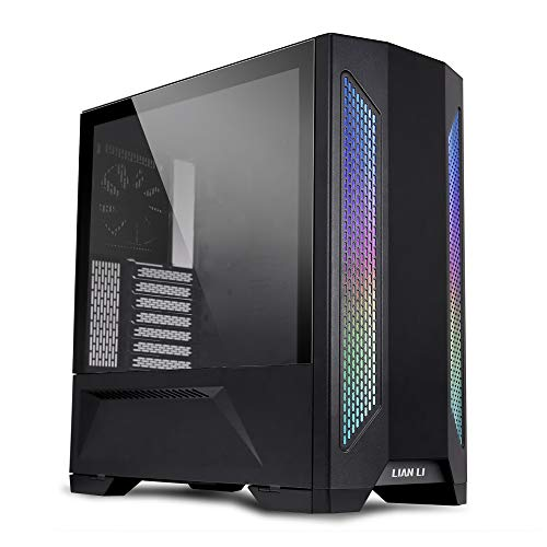 Lian-Li LANCOOL II X Black Cristal Templado - Caja/Torre