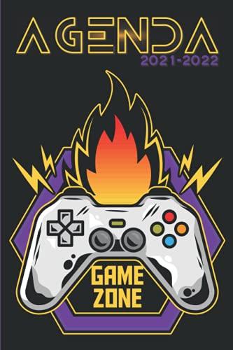 Agenda Gamer 2021-2022: Agenda scolaire 2021 2022 Gamer à personnalisé Organisateur Gestion du Temps Personnel Personnalisable Planificateur ... Lycée Etudiant Fan Jeu vidéo Game Zone